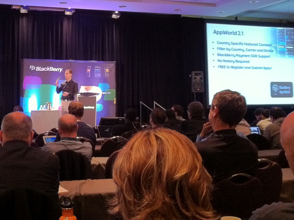 PlayBook details from BlackBerry Dev Day Toronto (video)